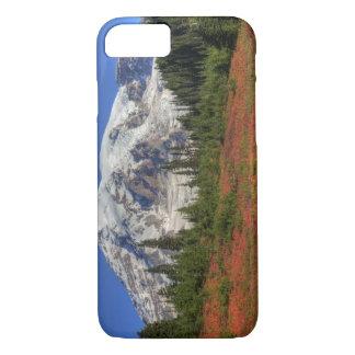 Coque iPhone 7 WA, parc national de mont Rainier, vallée de