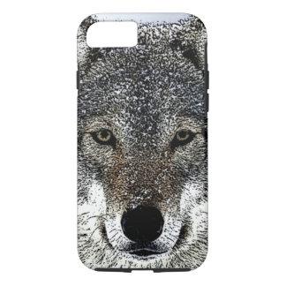 Coque iPhone 7 Yeux de loup