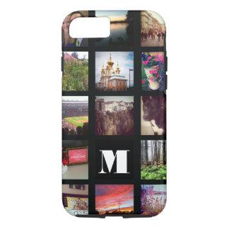 Coque iPhone 8/7 15 photos décorées d'un monogramme d'Instagram sur