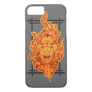 Coque iPhone 8/7 2016 singe du feu de zodiaque - caisse de portable