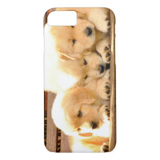 Coque iPhone 8/7 3 cas de l'iPhone 7 de chiots