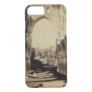 Coque iPhone 8/7 Abbaye de Rievaulx, North Yorkshire, 1854 (photo