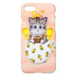 Coque iPhone 8/7 Abeille Kitty de miel