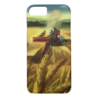 Coque iPhone 8/7 Affaires agricoles vintages de ferme, agriculture