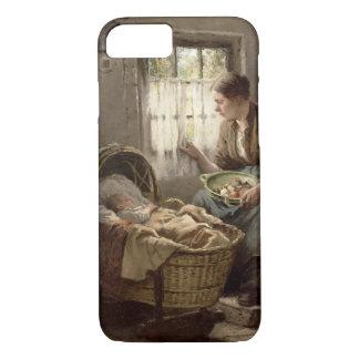 Coque iPhone 8/7 Affection maternelle (huile sur la toile)