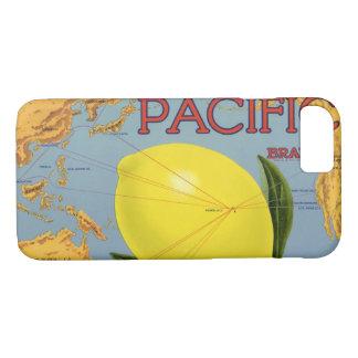Coque iPhone 8/7 Agrume Pacifique de citron de fruit de caisse