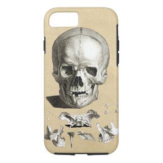 Coque iPhone 8/7 Anatomie de crâne et d'os