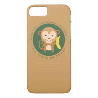 Coque iPhone 8/7 Année de 2016 singes