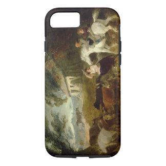 Coque iPhone 8/7 Arrondissant avant la tempête, 1805 (huile sur le