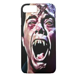 Coque iPhone 8/7 Art brûlant d'aerographe de vampire
