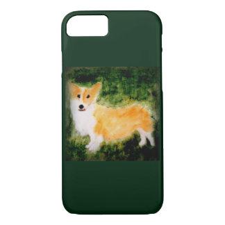 Coque iPhone 8/7 Art mignon de chien de corgi