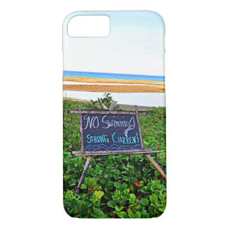 Coque iPhone 8/7 Aucune natation, courant fort