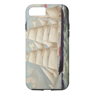 "Coque iPhone 8/7 Barque ""Clendovey"" de tondeuse (huile sur la"