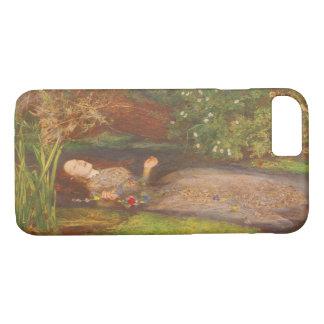 Coque iPhone 8/7 Beaux-arts victoriens vintages, Ophélie par