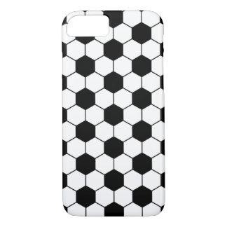 Coque iPhone 8/7 Blanc adapté de noir de motif de ballon de