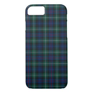 Coque iPhone 8/7 Bleu royal de clan du Mackenzie et tartan de
