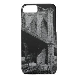 Coque iPhone 8/7 Bord de mer 1896 de pont de Brooklyn
