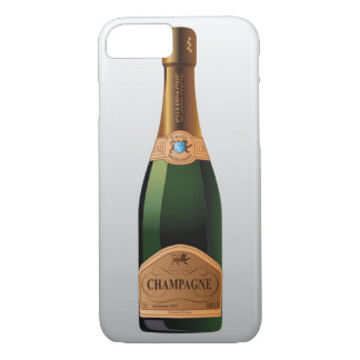 COQUE iPhone 8/7 BOUTEILLE DE CHAMPAGNE