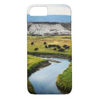 Coque iPhone 8/7 Buffalo dans la vallée