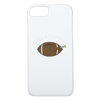 Coque iPhone 8/7 Cadeau de thanksgiving de touchdowns de la Turquie