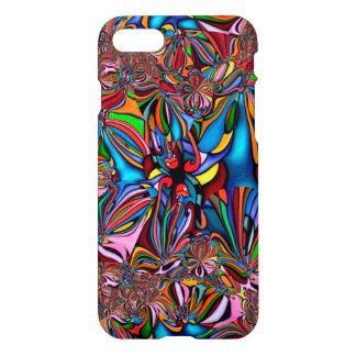 Coque iPhone 8/7 Caisse abstraite brillante colorée