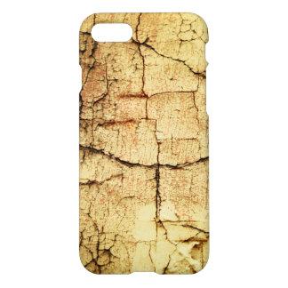 Coque iPhone 8/7 Caisse beige de Grunge-Style