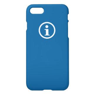 Coque iPhone 8/7 Caisse bleue de w/Icon Shell