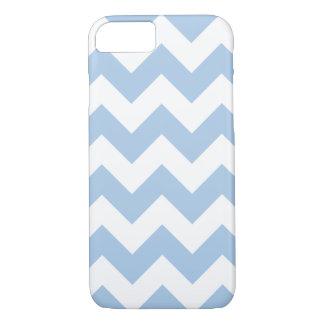 Coque iPhone 8/7 Caisse bleue placide de l'iPhone 7 de zigzag de