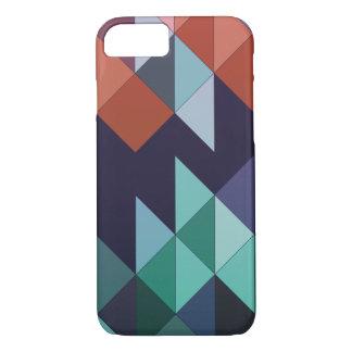 Coque iPhone 8/7 Caisse colorée géométrique abstraite de l'iPhone 7
