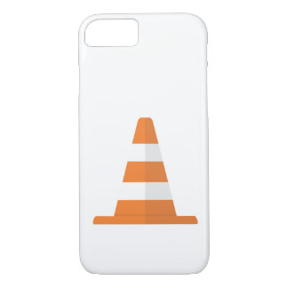 Coque iPhone 8/7 Caisse de cône de sécurité