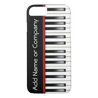 Coque iPhone 8/7 Caisse du téléphone 5 du piano I personnalisée