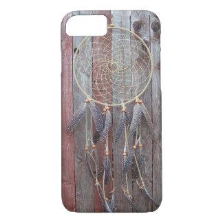 Coque iPhone 8/7 Caisse en bois de barrière de receveur rêveur