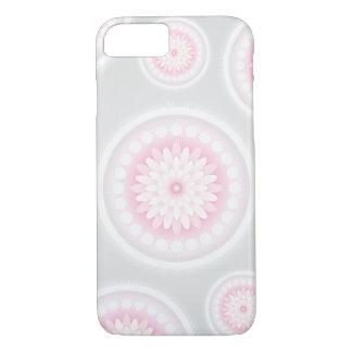 Coque iPhone 8/7 Caisse grise de fleur