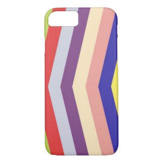 Coque iPhone 8/7 Caisse multicolore fraîche de l'iPhone 7