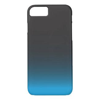 Coque iPhone 8/7 Caisse noire et bleue simple de l'iPhone 7