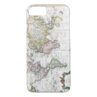 Coque iPhone 8/7 Carte 1748 du monde