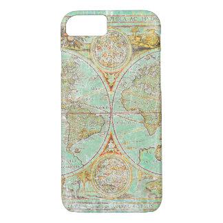 Coque iPhone 8/7 Carte de Vieux Monde