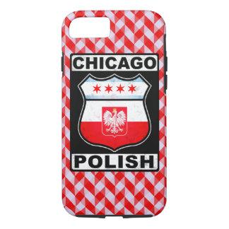 Coque iPhone 8/7 Cas américain polonais de téléphone de Chicago