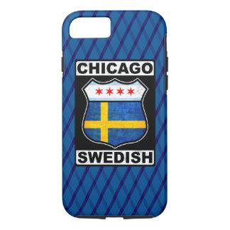 Coque iPhone 8/7 Cas américain suédois de téléphone de Chicago