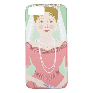 Coque iPhone 8/7 Cas d'Alexandra Feodorovna Romanova Matryoshka
