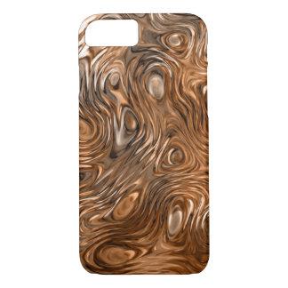 "Coque iPhone 8/7 Cas ""de cuivre"" fondu de l'iPhone 7 d'impression à"