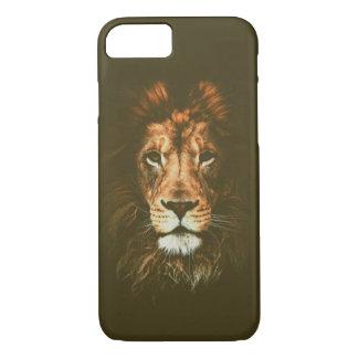 Coque iPhone 8/7 Cas de lion