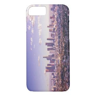 Coque iPhone 8/7 Cas de l'iPhone 7 d'Apple d'horizon de ville de