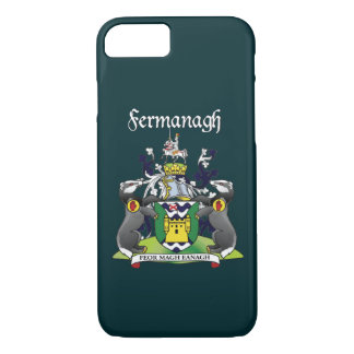 Coque iPhone 8/7 Cas de l'iPhone 7 de Fermanagh du comté à peine là