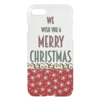 Coque iPhone 8/7 Cas de l'iPhone 7 de Joyeux Noël