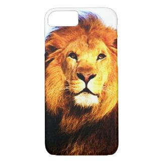 Coque iPhone 8/7 Cas de l'iPhone 7 de lion