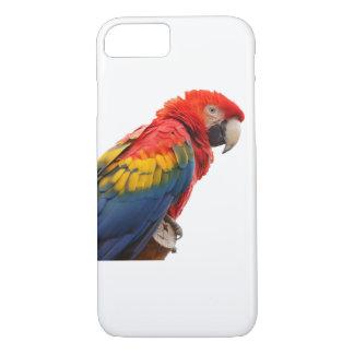 Coque iPhone 8/7 Cas de l'iPhone 7 de perroquet d'arums d'ara