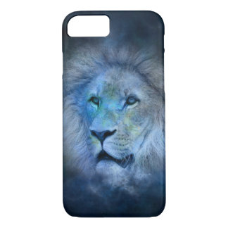 Coque iPhone 8/7 Cas de l'iPhone 7 de roi de lion à peine là