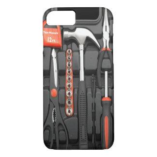 Coque iPhone 8/7 Cas de l'iPhone 7 de texture de trousse à outils