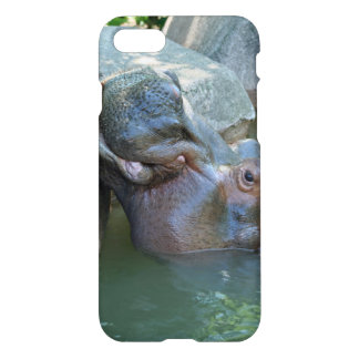 Coque iPhone 8/7 Cas de l'iPhone 7 d'hippopotame